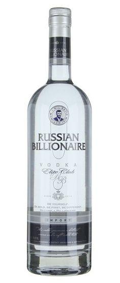 Russian Billionaire Elite Club Vodka