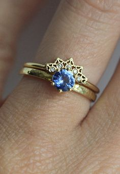 Diamond Lace Ring | MinimalVS on Etsy