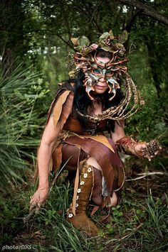 Dryad of Festival of Legends - Costuming