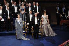 Gert's Royals (@Gertsroyals) on Twitter:  Nobel Prize Ceremony, Stockholm, Sweden, December 10, 2016-Queen Silvia, King Carl Gustaf, Prince Daniel and Crown Princess Victoria