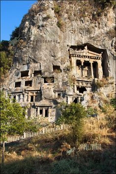 Rock Tombs of Ancient Lycia |       Telmessos  Ancient City by Paul Biris Photography, via Flickr