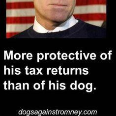 ~ Dogs against Romney