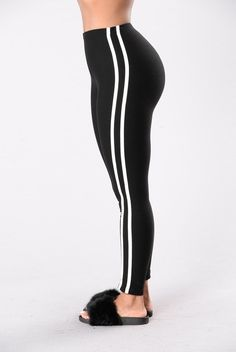 eb72f9ee6a8bf7 Lazy Outfits, Cute Outfits, When I Come Around, Black Leggings, Spandex,