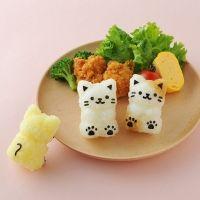 코무스비냥 주먹밥 메이커 ※ 고양이 김밥틀,도시락데코