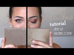 ♡ Zoeva Cocoa Blend tutorial | La Belle Nantaise ♡ - YouTube