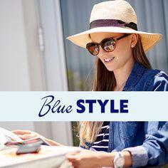 Blue Style, Blue Fashion, Cat Walk, Color Blue