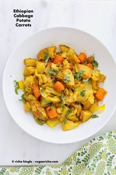 Atakilt Wat - Ethiopian Cabbage Potato Carrots
