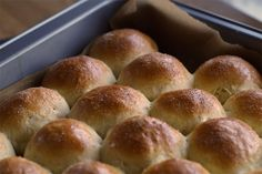 Hawaiian Sweet Rolls for sliders (Mini-Burgerbrötchen)