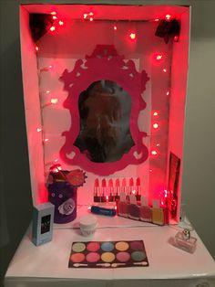 Surprise make-up tafel kaptafel sinterklaas