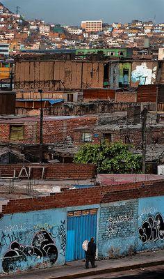 lima, peru by jamus via flickr  Go informal housing!
