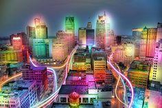 Detroit City Lights