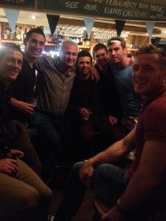 Photos of the Dublin Gaelic football celebrating at the Merry Ploughboy Irish Music pub after winning the 2013 All-Ireland footbal final. Football Team, Dublin, Ireland, Champion, Football Equipment, Football Squads, Irish