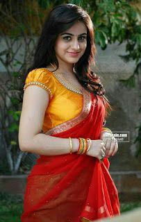Beautiful Indian Women in Saree- Hottest Photo Gallery! Saree Blouse Neck Designs, Simple Blouse Designs, Stylish Blouse Design, Bridal Blouse Designs, Designer Blouse Patterns, Indian Beauty Saree, Sensual, Navel, Sneha Saree