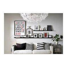 2x IKEA Bilderleiste RIBBA Regal für Bilderrahmen SCHWARZ 115 cm in Saarland - Völklingen | Regale gebraucht kaufen | eBay Kleinanzeigen