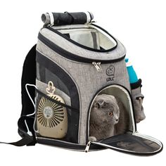Small Puppies, Small Dogs, Dogs And Puppies, Small Animals, Puppy Backpack, Backpack Travel Bag, Dog Travel Carrier, Cat Bag, Outdoor Cats
