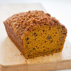 America's Test Kitchen Pumpkin Bread. Best pumpkin bread I've ever had.