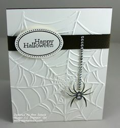 Sparkling Spider - or change it up with an ornament for Christmas etc, very pretty