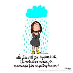 la pluie c'est pas toujours triste by Mathou