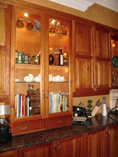 Kitchen counters...love that color granite