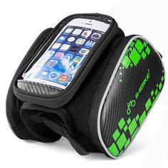 방수 자전거 휴대 전화 가방 자전거 탑 튜브 가방 bisiklet aksesuar 5.5 인치 자전거 가방 더블 사이드 자전거 액세서리