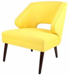 Bonita Accent Chair YELLOW