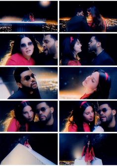 Lana Del Rey and The Weeknd in #Lust_For_Life video