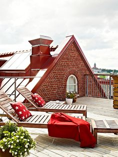 Cool roof top