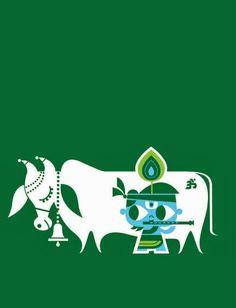 "Krishna, also known as Govinda, ""who gives cows pleasure."""