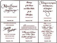 Free Printable Christmas Card Inserts 09 Christmas Card Verses Verses For Cards Christmas Card Sentiments