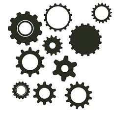 Lots of free SVG files. Gears