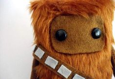 Want to keep a little Wookie close at night? Etsy user Peludossa made this cute 15-cm doll to keep those mean Storm Troopers away. It's hand-sewn and looks very cuddly. Han Solo not included.  Price: $25