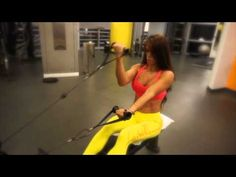 MICHELLE LEWIN Workout: Biceps workout - YouTube