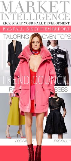 TREND COUNCIL: Market Intelligence - PreFall '15, Key Item Report