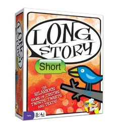 Long Story Short party game from @thegamechef  https://www.facebook.com/permalink.php?story_fbid=657159020981098&id=622500621113605