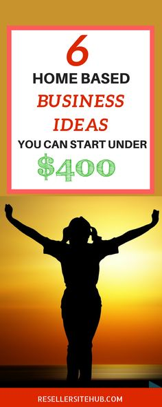Wondering to start a home based business and tied up with money, here we have collected 6 home based business ideas that you can start for less then $400. Check It out Now!