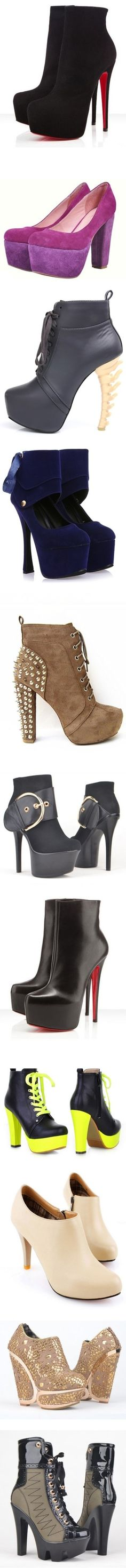 """New Heels, Boots & Platforms"""" by ChineseLaundry  <3!!!"""