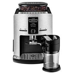 Krups EA829D Kaffeevollautomat Latt\'Espress (Alum