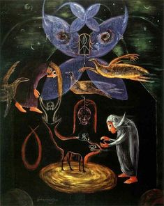 Leonora Carrington, The Night of the 8th.