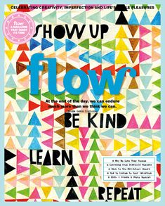 In this Flow issue 22 you'll find different ways of discovering what you really want and who you want to be and much more. And of course paper goodies.