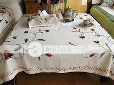 Resultado de imagen para manteles bordados a mano patrones Table, Furniture, Home Decor, Santos, Comforters, Throw Pillows, Patrones, Sewing, Homemade Home Decor