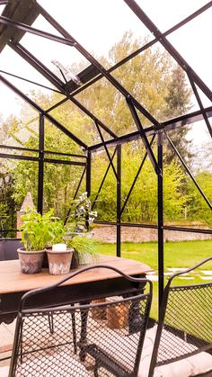 Guesthouse St. Michael. Our new greenhouse #guesthouse #convertedchurch #greenhouse #Netherlands