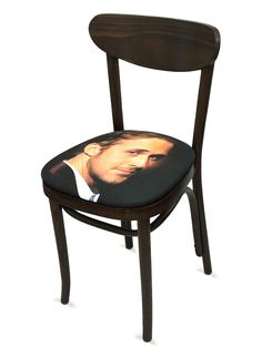 Ryan Gosling Chair - Gilt Home Lol!! seriously...Id like to sit Right on That ;)
