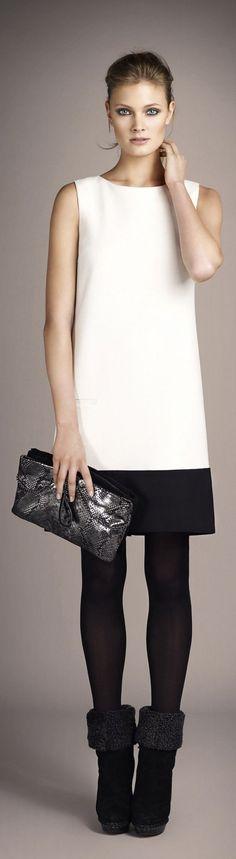 @roressclothes clothing ideas #women fashion white dress