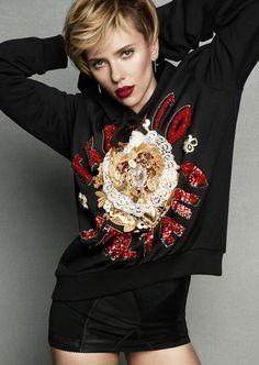 Marie Claire March 2017 Scarlett Johansson by Tesh