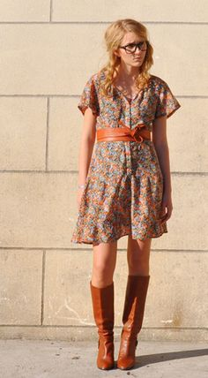 Great floral dress...