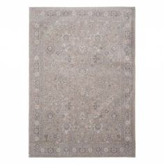 Серый ковер 'Персидский мотив' Glastonbury Grey