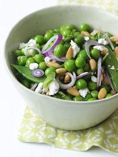 Double Pea and Feta Salad.