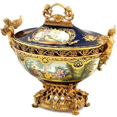 ormolu centerpiece | Royal Terrine Prunkgefäß