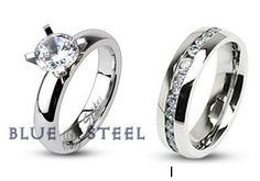Eternity and Evermore Matching Wedding Set, a set I'd love to win