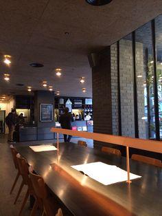 Cafe Shop, Cafe Bar, Restaurant Design, Restaurant Bar, Ace Hotel London, Hotel Concept, Workspace Design, Co Working, Hotel Interiors